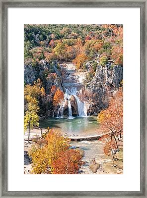 Turner Falls Framed Print