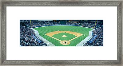 Turner Field At Night, World Champion Framed Print by Panoramic Images