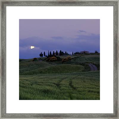 Tuscany - Val D'orcia Framed Print