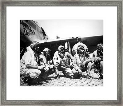 Tuskegee Airmen Framed Print