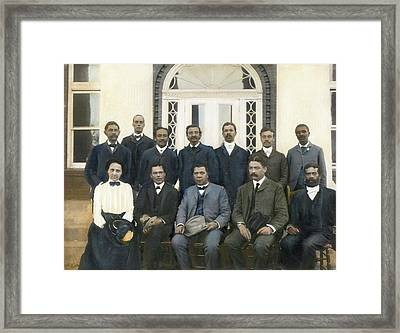 Tuskegee Faculty Council Framed Print by Granger