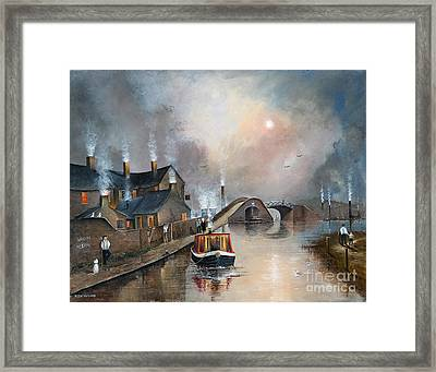 Twilight Departure Framed Print