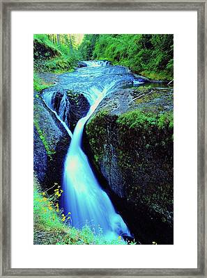 Twister Falls  Framed Print