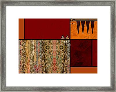Two Cats Framed Print by Kenneth North