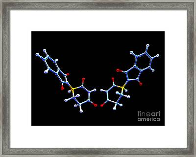 Two Forms Of Thalidomide Framed Print by Alfred Pasieka