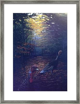 Two Jakes Framed Print by Dan Parsons
