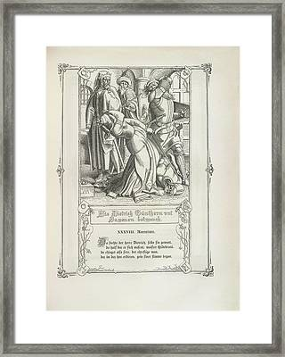 Two Knights Framed Print
