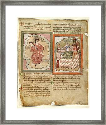 Two Marvels Of The East Framed Print by British Library