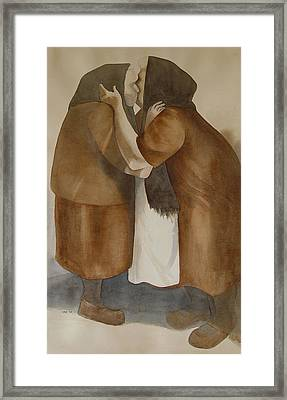 Two Old Friends Framed Print by Sarah Buell  Dowling