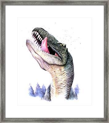 Tyrannosaurus Rex Framed Print