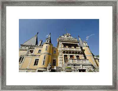 Ukraine, Yalta Massandra Palace, Summer Framed Print by Cindy Miller Hopkins