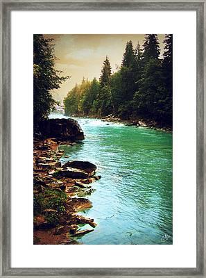Ukrainian River Framed Print