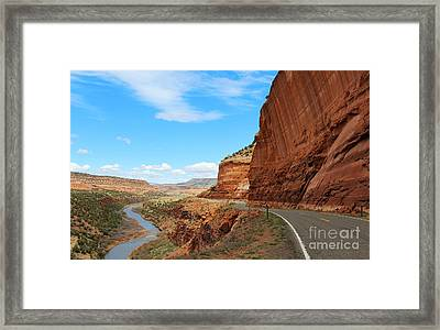 Unaweep Tabeguache Scenic Byway Framed Print
