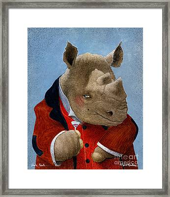 Uncle Cecil... Framed Print