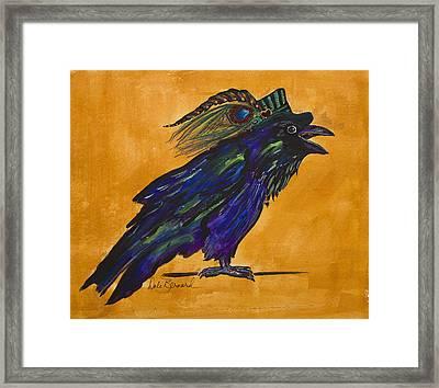 Uncommon Raven Love 3 Framed Print