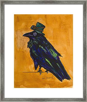 Uncommon Raven Love 4 Framed Print