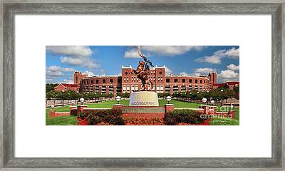 Unconquered Framed Print
