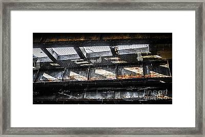 Under The Street Framed Print by Diane Diederich