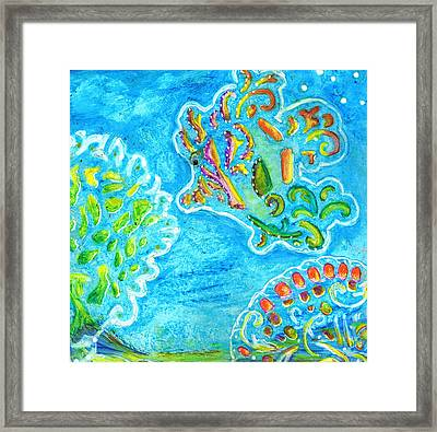 Undercover Blues Framed Print