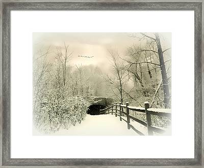 Underhill Crossing Framed Print by Jessica Jenney