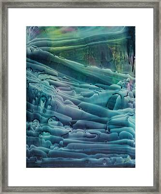 Underwater Seascape II Framed Print