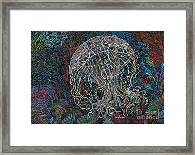 Undulating Framed Print by Erika Pochybova