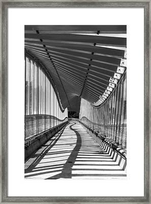 Undulating Framed Print
