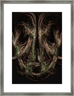 Unforgiveness Framed Print by Christopher Gaston