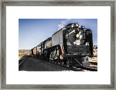 Union Pacific 844 Framed Print