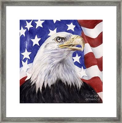 United We Stand? Framed Print by Summer Celeste
