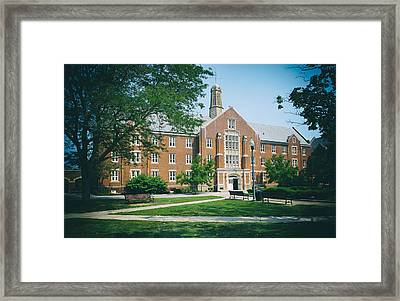 University Of Connecticut Campus Framed Print by Mountain Dreams