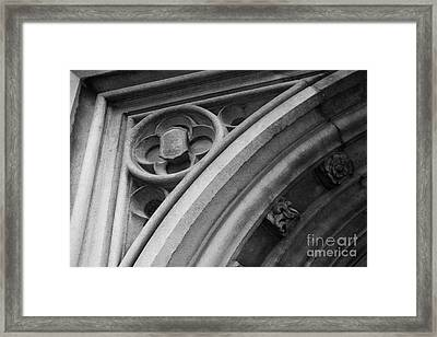 University Of Tennessee Ayres Hall Framed Print by University Icons