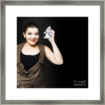 University Student Under Stress Framed Print by Jorgo Photography - Wall Art Gallery