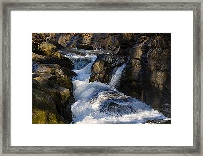 unnamed NC waterfall Framed Print