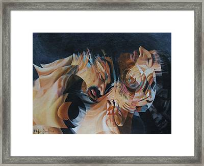 Unrequited Framed Print by Ron Richard Baviello