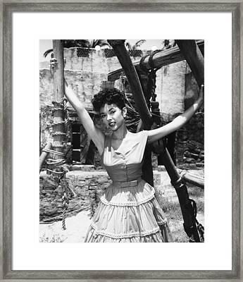 Untamed, Rita Moreno, 1955. Tm & Framed Print