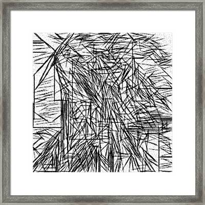 Untitled Abstraction Framed Print