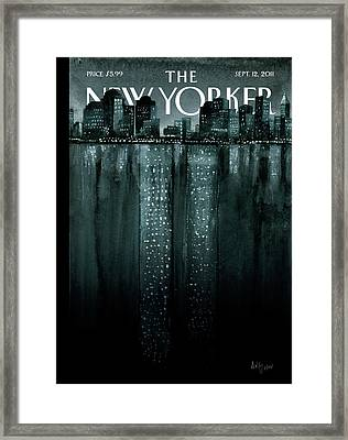 New Yorker September 12th, 2011 Framed Print