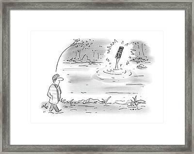 New Yorker January 24th, 2000 Framed Print