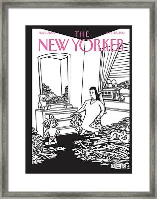 New Yorker September 26th, 2011 Framed Print