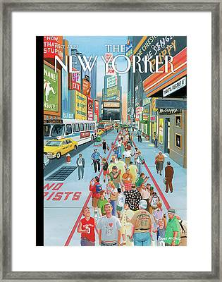 New Yorker October 3rd, 2011 Framed Print