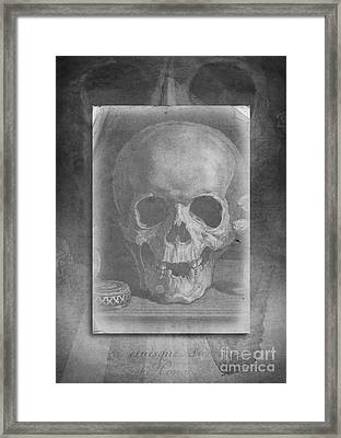 Untitled Skull Framed Print