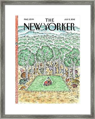 New Yorker July 2nd, 2012 Framed Print