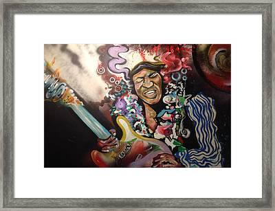 Electrifying  Framed Print by Erik Franco