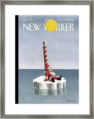 New Yorker August 13th, 2012 Framed Print