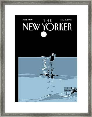 New Yorker August 31st, 2009 Framed Print
