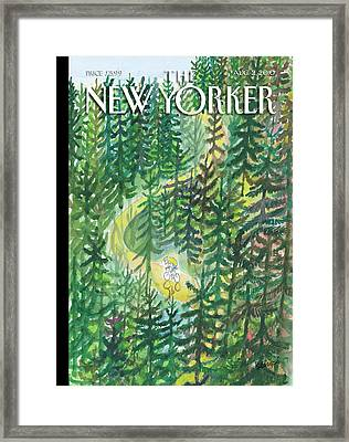 New Yorker August 2nd, 2010 Framed Print