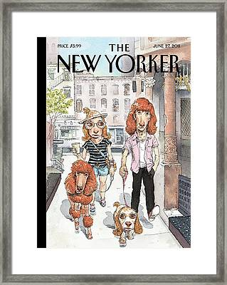 New Yorker June 27th, 2011 Framed Print
