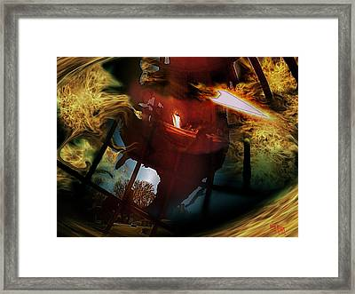 Untitled Framed Print by Kevin Blair