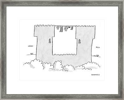 Captionless Framed Print